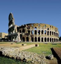 Coliseuma edo Flavio Anfiteatroa (Goi Inperioa). Iberfoto. Photoaisa.
