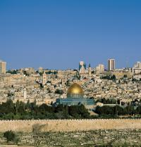 Overview of Jerusalem. Dome of the Rock. Jerusalem, Israel. Steve Vidler/Iberfoto. Photoaisa.