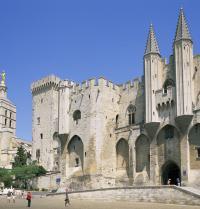 Pope's Palace. Avignon, France. Steve Vidler/Iberfoto. Photoaisa.