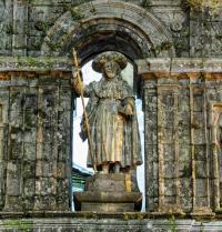 El apóstol Santiago. Santiago de Compostela. Galicia. Luxian. Fotolia.