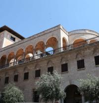 Palau March (1940-45). Façana del carrer Conquistador. Palma. IRU, SL.