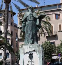 Denkmal Ramon Llulls. Promenade Paseo Guillem Sagrera. Palma. IRU, S.L.