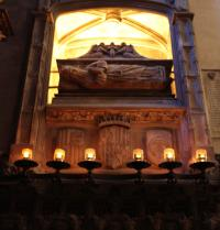 Tomb of Ramon Llull. Basilica of Sant Francesc. Palma. IRU, SL.