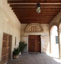 Detall del claustre. Monestir de Santa Maria de la Real. Palma. IRU, SL.