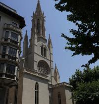 Facade. Santa Eulalia Church. Palma. IRU, SL.